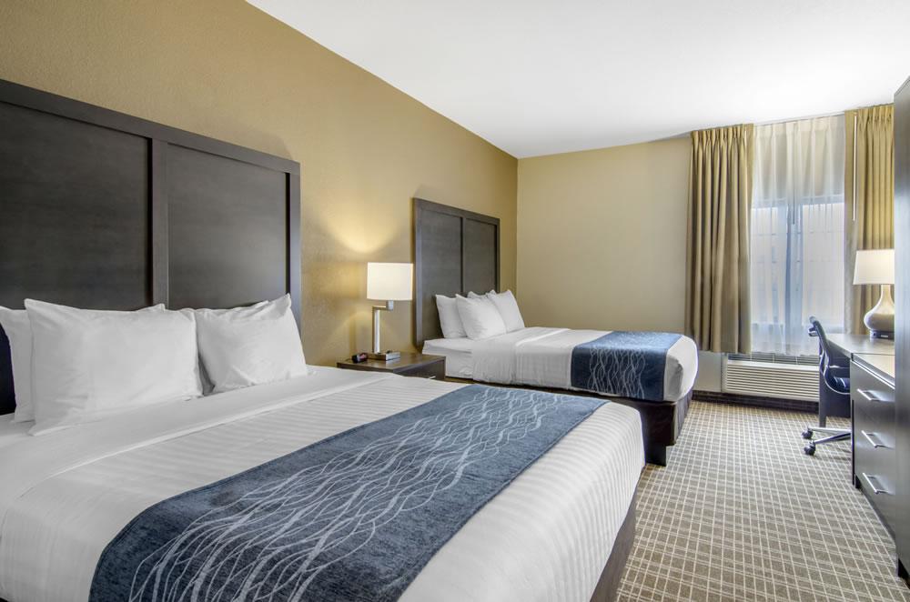 Comfort Inn St Robert Fort Leonard Wood Double Queen Room 1