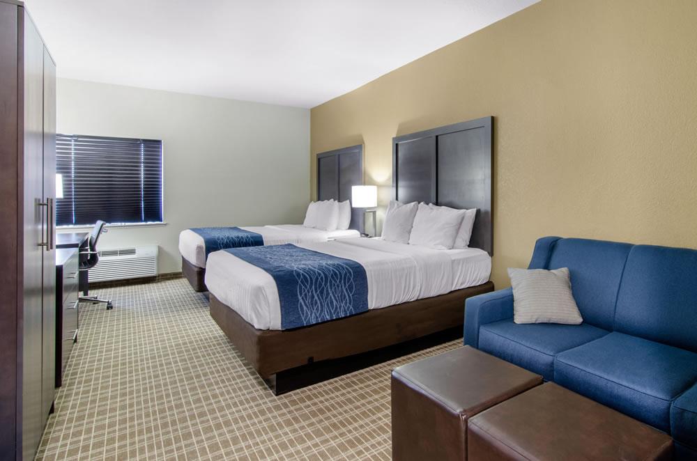 Comfort Inn St Robert Fort Leonard Wood Double Queen Suite (3)