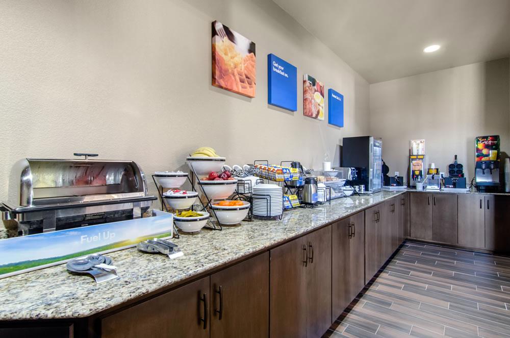 Comfort Inn St Robert Fort Leonard Wood Free Breakfast Area