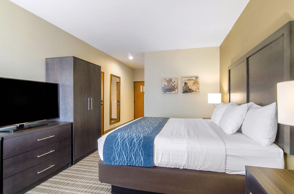Comfort Inn St Robert Fort Leonard Wood King Room 5