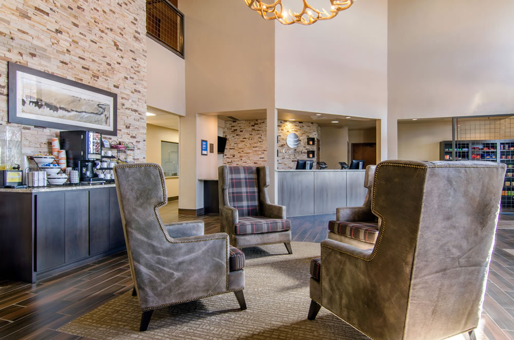 Comfort Inn St Robert Fort Leonard Wood Lobby Free 24 Hour Coffee