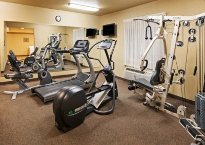 Fitness Center FREE 24 Hour Access
