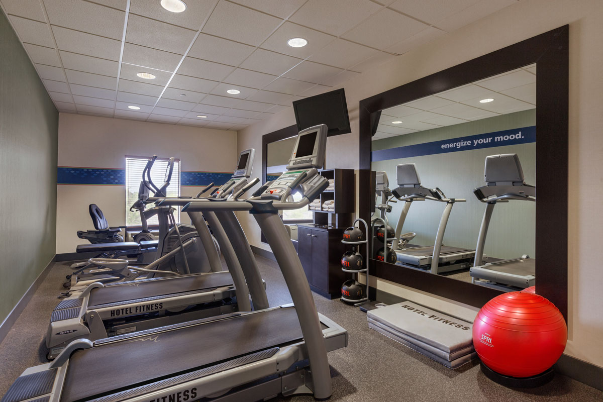 Hampton Inn St. Robert - Ft. Leonard Wood  Fitness Room
