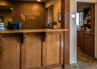 Liberty Lodge 24 hour Front Desk