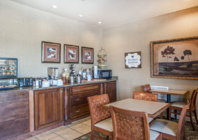 MainStay Suites Breakfast Area