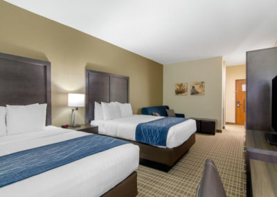Comfort Inn St Robert Fort Leonard Wood Double Queen Suite 4