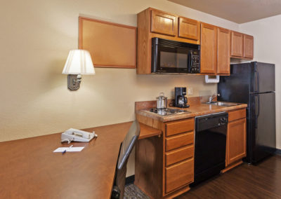 Double Studio Suite Kitchen