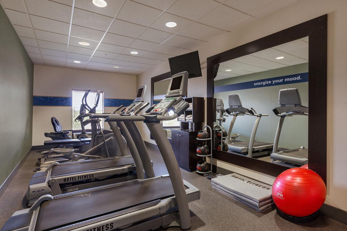 Hampton Inn St. Robert - Ft. Leonard Wood  Fitness Room