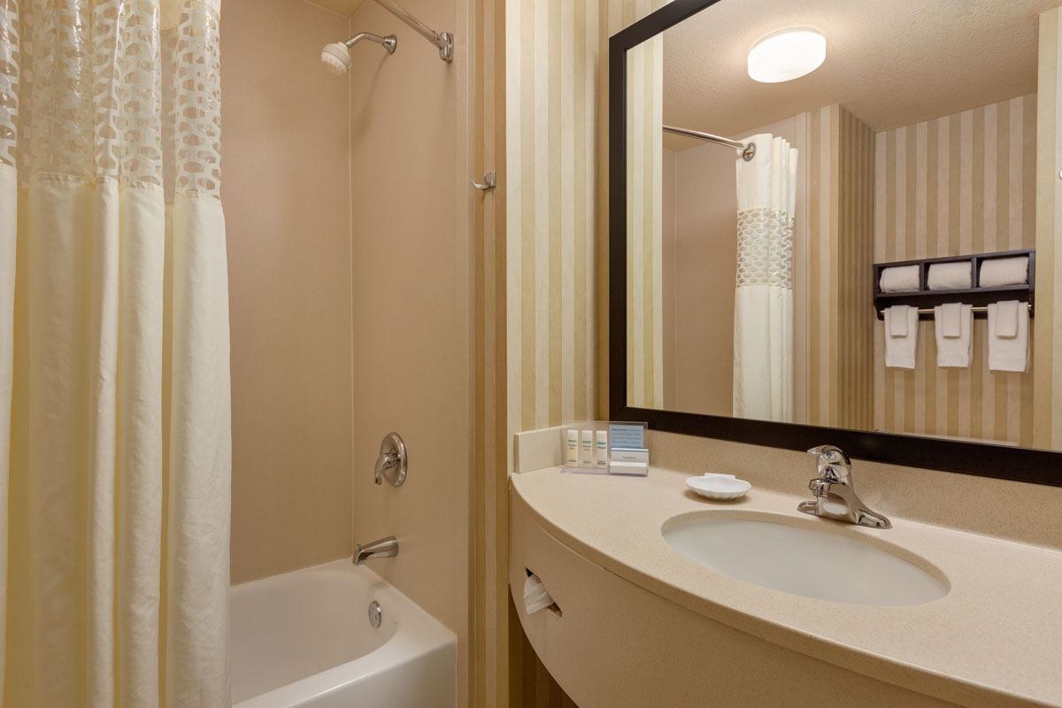 Hampton Inn St. Robert - Ft. Leonard Wood Guest Bathroom