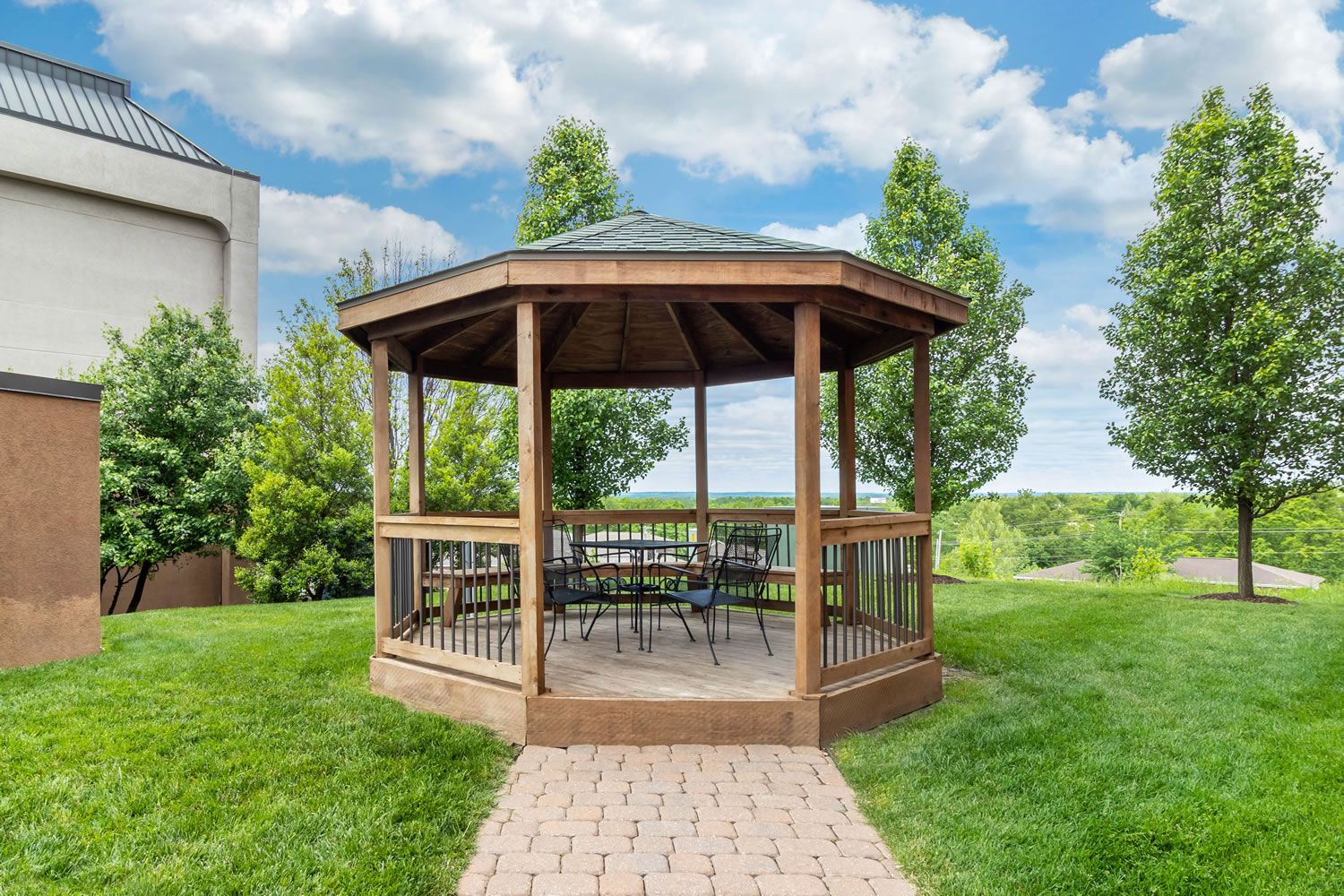 9 of 10 Comfort Inn Gazebo area